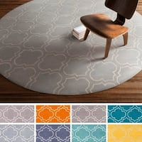 Hand-Tufted Langport Wool Rug (8' Round) - 8'