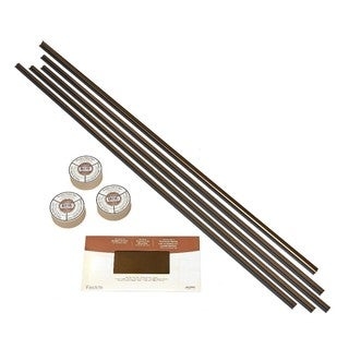 Fasade Backsplash Accessory Kit with Tape Oil Rubbed Bronze