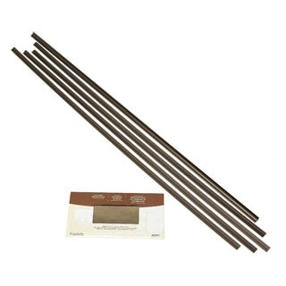 Fasade Backsplash Accessory Kit Argent Bronze