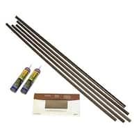 Fasade Backsplash Accessory Kit with PL Adhesive Argent Bronze
