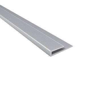 Fasade Fasade 4-foot J-Trim Argent Silver