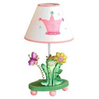 Teamson Fantasy Fields Princess and Frog Table Lamp