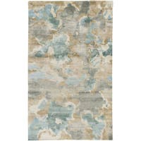Hand-Knotted Virgil Abstract Indoor Area Rug
