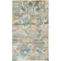 Hand-Knotted Virgil Abstract Indoor Area Rug - 8' x 11'