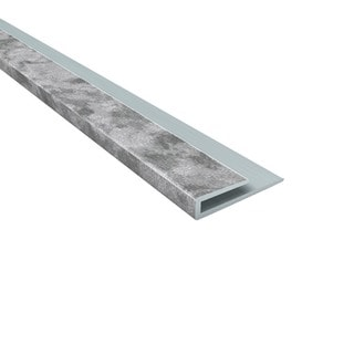 Fasade Fasade 4-foot J-Trim Galvanized Steel