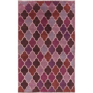 Hand-Knotted Brittney Moroccan Trellis Indoor Rug (8' x 11')