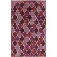 Hand-Knotted Brittney Moroccan Trellis Indoor Area Rug - 8' x 11'