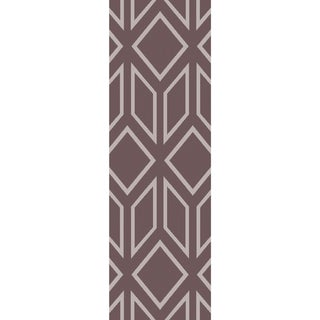 Hand-Tufted Jaclyn Geometric Indoor Area Rug