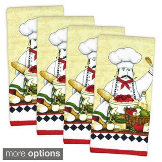 Terry Printed Dishtowel (Set of 4)