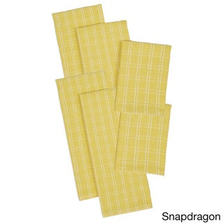 Heavyweight Dishtowel and Dishcloth (Set of 6)