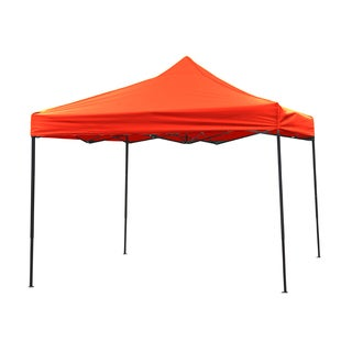 Trademark Innovations Durable and Strong Canopy Tent Set Red Canopy Cover