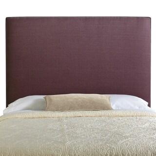 Humble + Haute Bingham Tall Queen Size Iris 100-percent Linen Upholstered Headboard