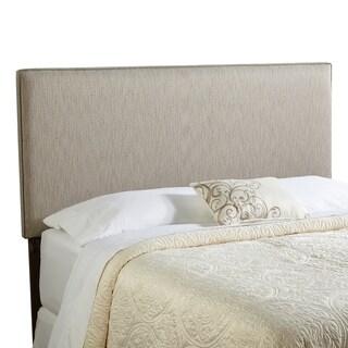 Humble + Haute Bingham Queen Size Textured Grey Upholstered Headboard
