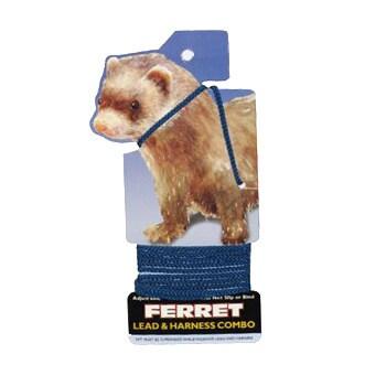 Coastal Pet Ferret Harness and Leash Combo (Black)