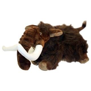 Multipet Dinosaur Mammoth Plush Dog Toy