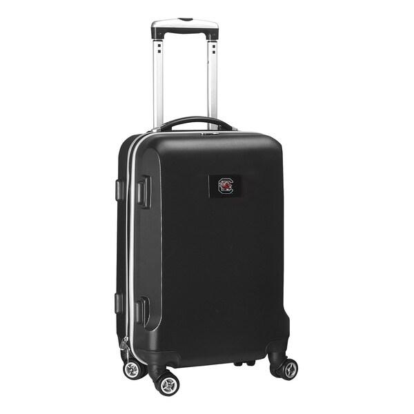 Denco Sports NCAA South Carolina Gamecocks 20-inch Hardside Carry-on Spinner Suitcase