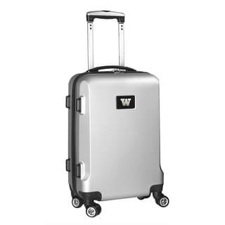 Denco Sports NCAA Washington Huskies 20-inch Hardside Carry-on Spinner Suitcase