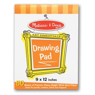 Melissa & Doug 9 x 12 inches Drawing Pad