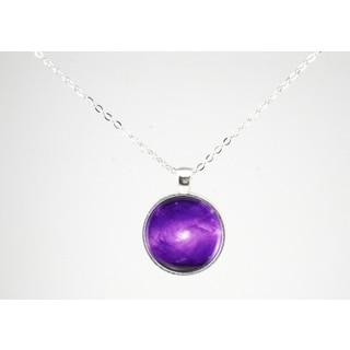 "Be The Envy ""Purple Galaxy"" Necklace"