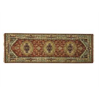 Runner 100 Percent Wool Serapi Heriz Handmade Oriental Rug (2'8 x 8')