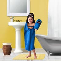 Pirate Hooded Bath Wrap for Tub Time for Tots