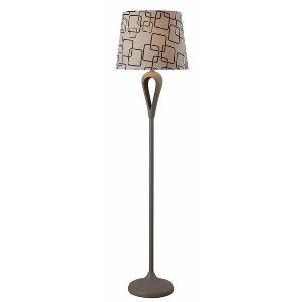 Design Craft Needle Grey 59-inch Floor Lamp