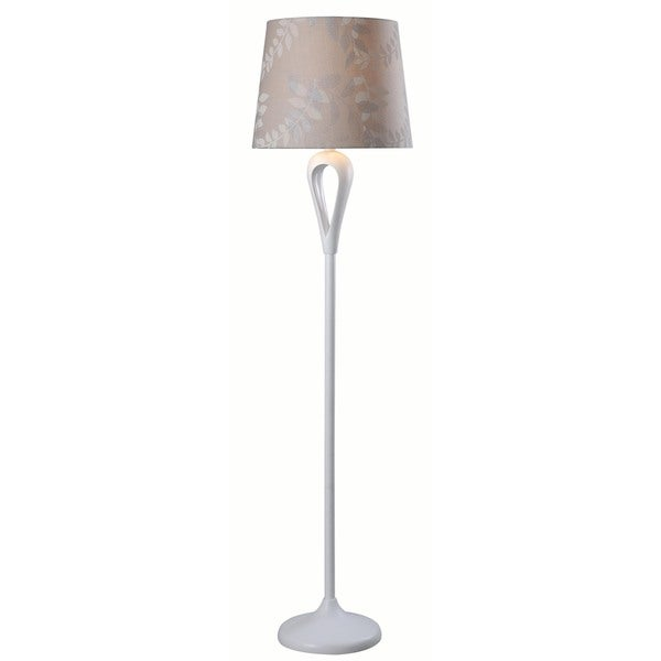 Needle White Floor Lamp