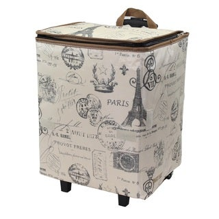 As Seen On TV Paris City Smart Cart Plus Rolling Shopper Tote