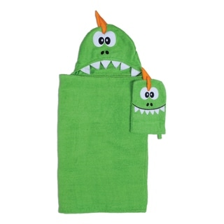 Dragon Hooded Wrap for Tub Time for Tots