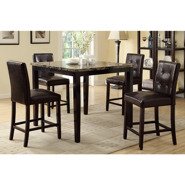 Bayfield 5 piece Counter Height Dining Set Free Shipping