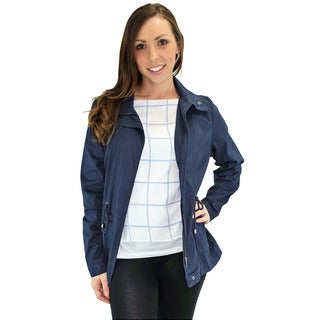 Relished Women's Contemporary Marin County Navy Utility Jacket