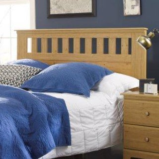 Clermont King Size Upholstered Blue Headboard 16714826