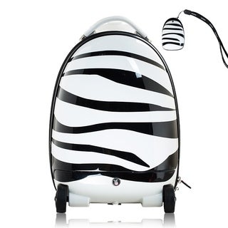 "Best Ride On Cars Remote Control Zebra Suitcase - 19""h x 12""w x 10""d"