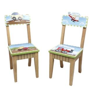 Fantasy Fields - Transportation Set of 2 Chairs