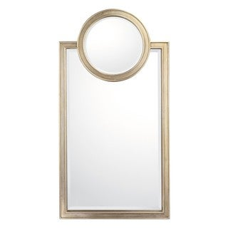 Capital Lighting Transitional Brushed Silver Decorative Wall Mirror