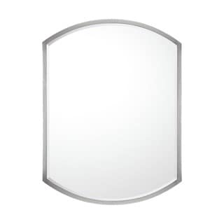 Capital Lighting Transitional Matte Nickel 32x24 inch Decorative Wall Mirror