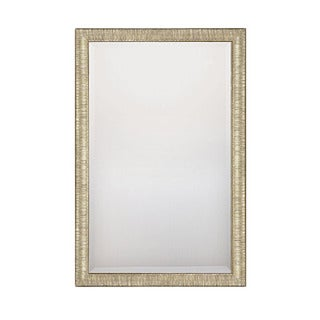 Capital Lighting Transitional Hand Painted Silver and Gold 33.5x23.5 inch Decorative Wall Mirror