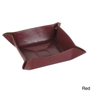 Men's Leather Valet Tray