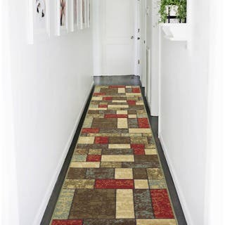 Ottohome Collection Multicolor Contemporary Boxes Design Non-slip Runner Rug (2'7' x 10') https://ak1.ostkcdn.com/images/products/10514458/P17585311.jpg?impolicy=medium