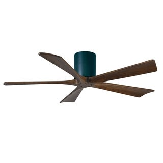 Matthews Fan Company Irene-5 Hugger 52 inch 5-blade Paddle Black Ceiling Fan