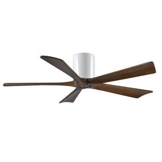 Matthews Fan Company Irene-5 Hugger 52 inch 5-blade Paddle White Ceiling Fan