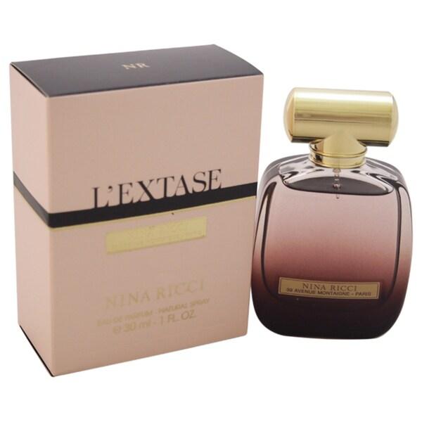 6dfaeb3adb Shop Nina Ricci L Extase Women s 1-ounce Eau de Parfum Spray - Free  Shipping On Orders Over  45 - Overstock - 10514628