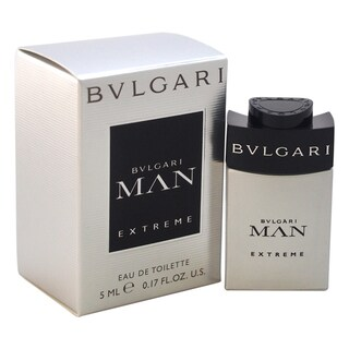 Bvlgari Man Extreme Men's 0.17-ounce Eau de Toilette Splash (Mini)