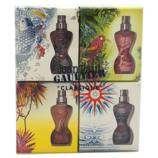 Classique Eau D'Ete Summer Fragrance Miniatures by Jean Paul Gaultier Women's 4-piece Mini Gift Set