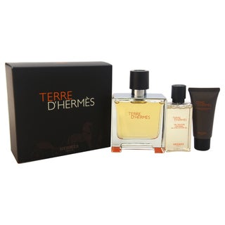 Terre D'Hermes by Hermes Men's 3-piece Gift Set