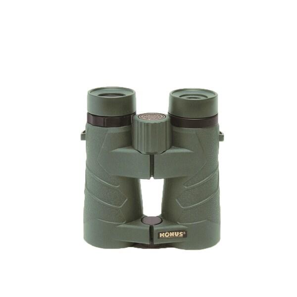 KONUS Emperor Open Hinge 8x42 Magnification/Objective Binoculars Green