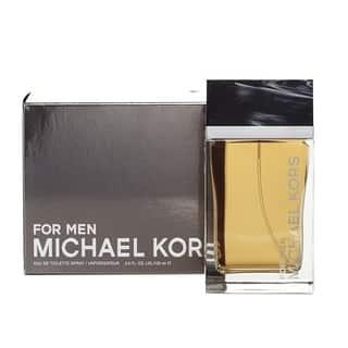 Michael Kors Men's 4-ounce Eau de Toilette Spray|https://ak1.ostkcdn.com/images/products/10514823/P17585744.jpg?impolicy=medium