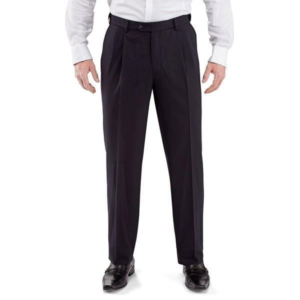 Men's Pleated Front Dress Pants