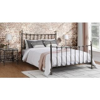 Avenue Greene Merano Queen Bed: Queen Antique Bronze