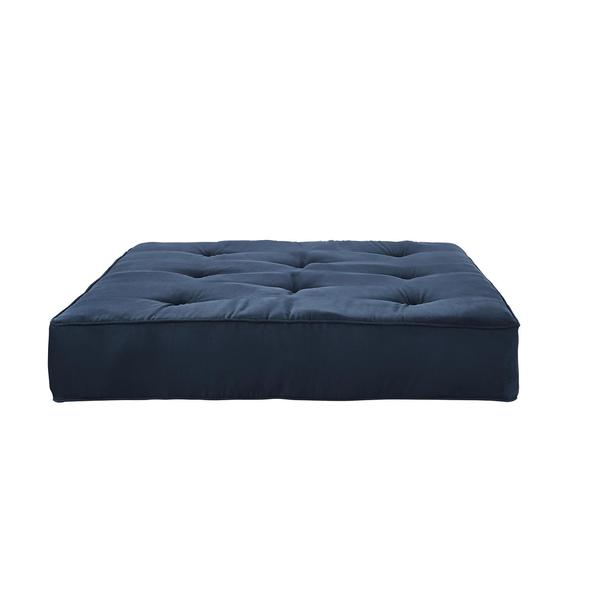 DHP Cobalt 8 inch Independently Encased Coil Futon